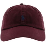 Product Image for Ralph Lauren Classic Baseball Cap Burgundy